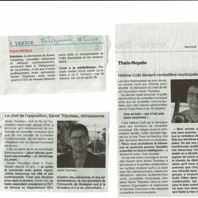 articles presse du 16 octobre 2017