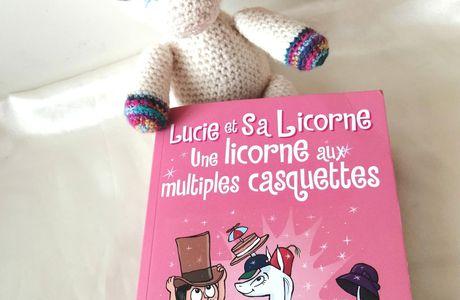 Découverte du Tome 7 - Lucie et sa Licorne - Une licorne aux multiples casquettes chez 404 Editions