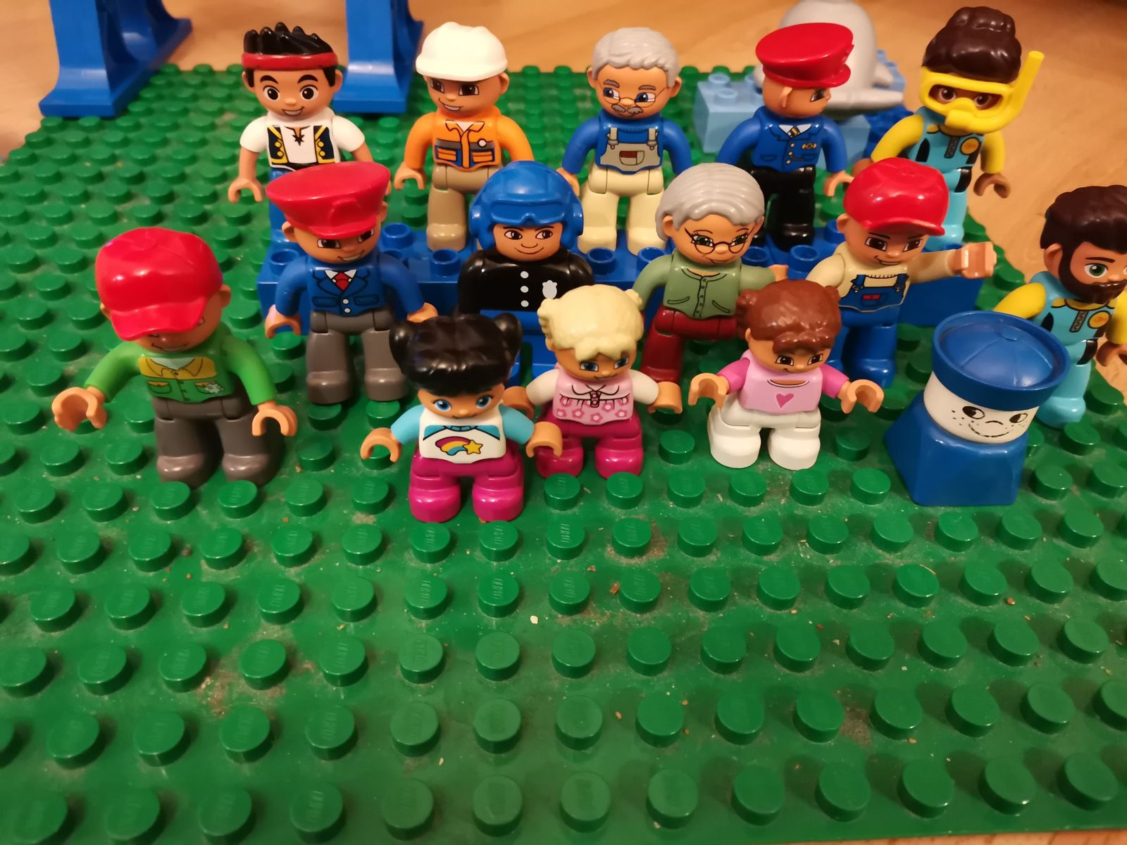 Nos personnages Duplo