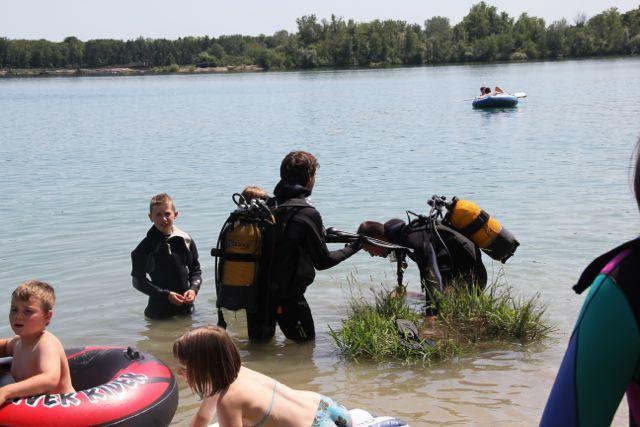 Plongée Enfants à Burkheim