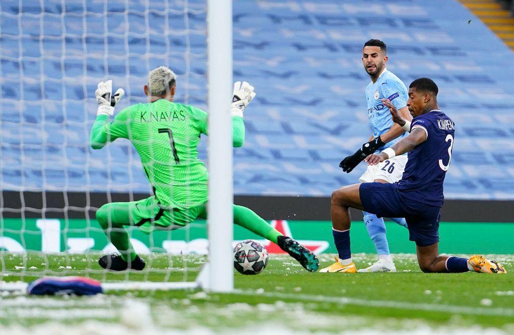 Séquences du match PSG - Man City Aller  retour Champions League  2021