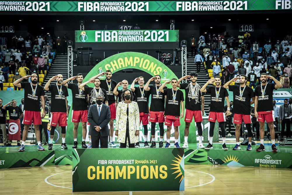 AfroBasket 2021 : Makram Ben Romdhane élu MVP et dans le cinq majeur avec Abada, Costello, Dieng et Tavares