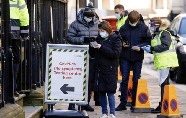 UK coronavirus variant detected in 41 territories: WHO
