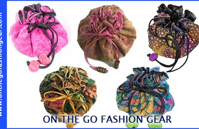 Explore the Best Designer Drawstring Cosmetic & Jewelry Bags