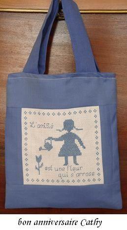 sacs de toutes sortes, pour enfants, adultes, sacs à dos, à mains ou pochons...