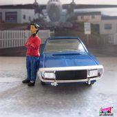 RENAULT 15 1975 VEREM 1/43 - R15 BLEUE COLLECTION PASSION - car-collector