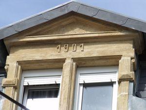 n° 40 rue Jean Burger à Algrange - Café - Marchand de vins - Habitations