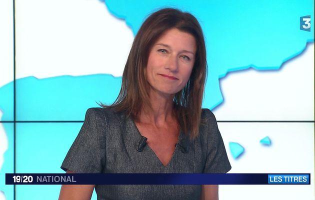 CAROLE GAESSLER ce soir @France3Paris pour LE1920 NATIONAL #vuesalatele