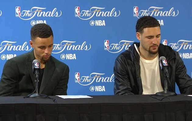 "Stephen Curry : "" Je tire mon chapeau à Kyrie Irving et LeBron James """