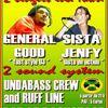 General Good, Sista Jenfy, Undabass Crew, Ruff Line le 1er juillet au Mans