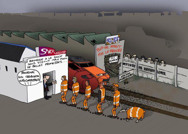 L'Union Départementale FO soutient la grève des cheminots