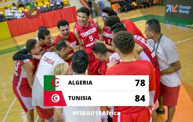 Championnat d'Afrique masculin des U18 : la Tunisie élimine l'Algérie au terme d'un match mémorable