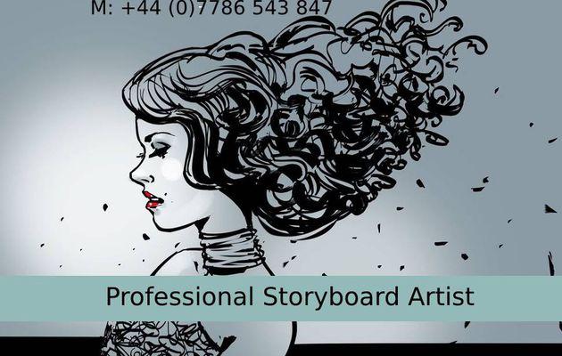London's Professional Storyboard Artist