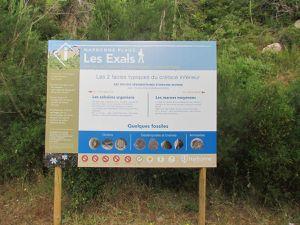 Chemin botanique des Karantes aux Exals Narbonne Plage.