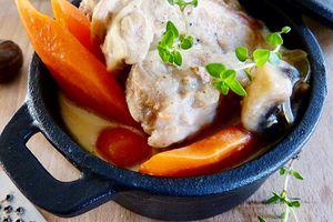 Blanquette de veau muscade- soupçon de vanille