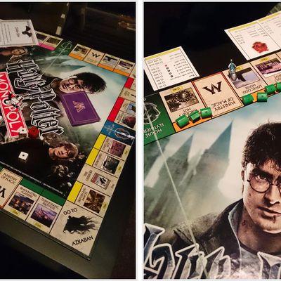 Jeu de société : téléchargez un jeu Monopoly Harry Potter (anglais) pour occuper les enfants et fans