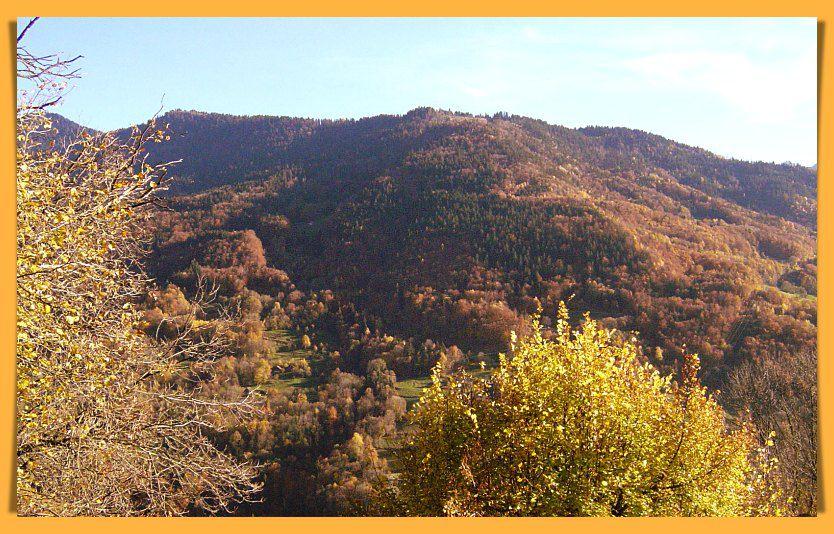Les Savoyardes montagnes m'empêchent de voir mon merveilleux Dauphiné !