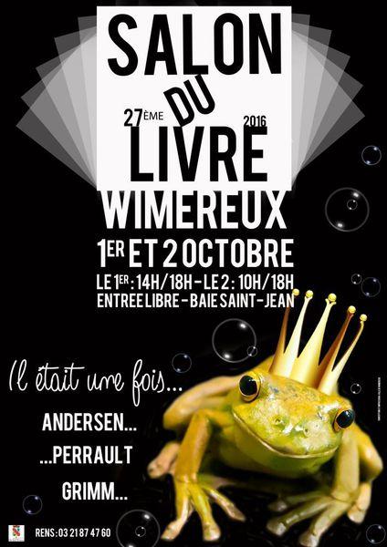 Salon du livre de Wimereux (62) - 1er et 2 octobre 2016