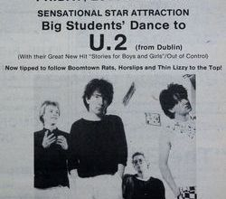 U2 -Early Days -29/02/1980 -Hôtel de ville -Newry -Irlande du Nord