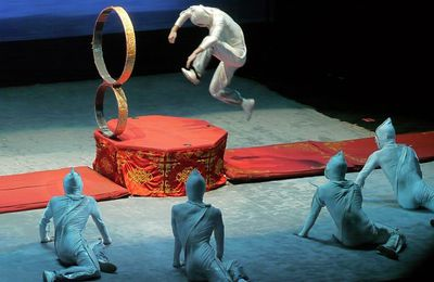 CHINE (80) : La troupe acrobatique de Shanghai
