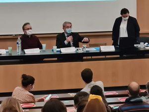 Ouverture de la concertation Bordeaux Inno campus Saige-Montaigne-Compostelle à l'Université Bordeaux Montaigne