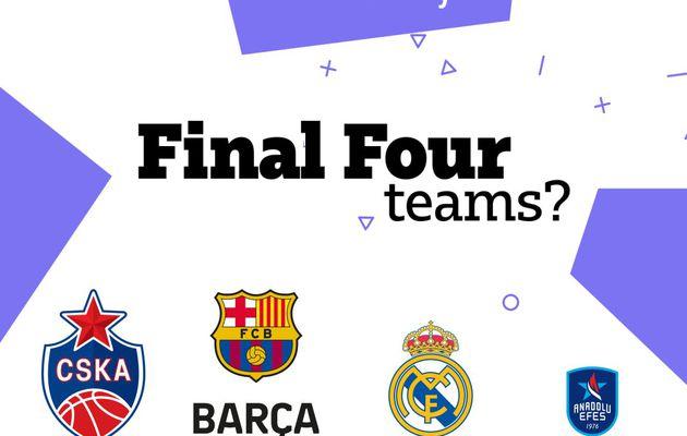 EuroLeague : les directeurs généraux voient le CSKA Moscou, le FC Barcelone, Real Madrid et l'Anadolu Efes Istanbul au Final Four 2021