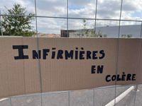 Mouvement de grève à la polyclinique Medipole Saint-Roch à Cabestany (66) !!!✊✊✊✊ (Acte 2).