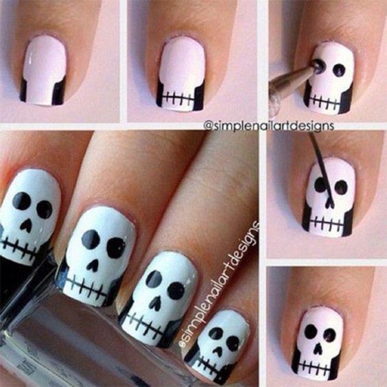 Halloween : Vos ongles faciles à faire