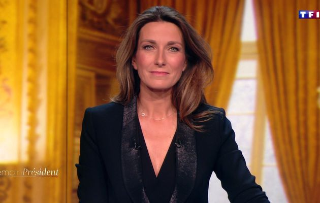 📸16 ANNE-CLAIRE COUDRAY @ACCoudray @TF1 @TF1LeJT pour DEMAIN PRESIDENT #vuesalatele