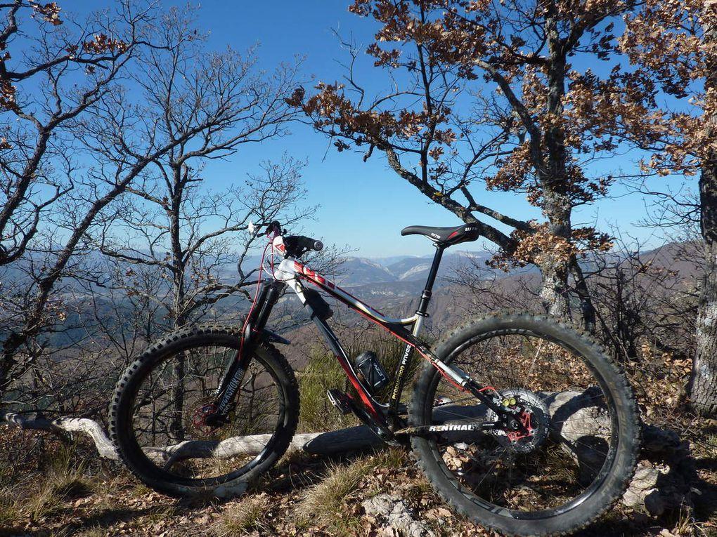 Parcours enduro n°22 Val de Durance (au départ de Volonne ou d'Escale -04-) le 17/02/2019