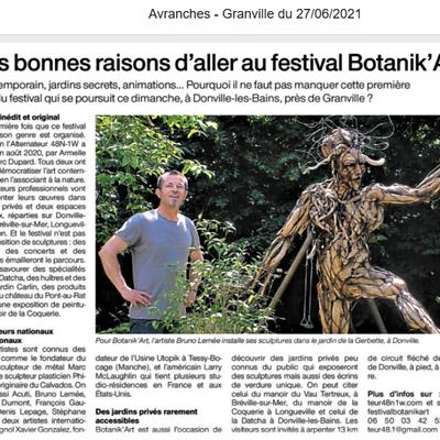 Festival BOTANIK'ART, un succès fou !