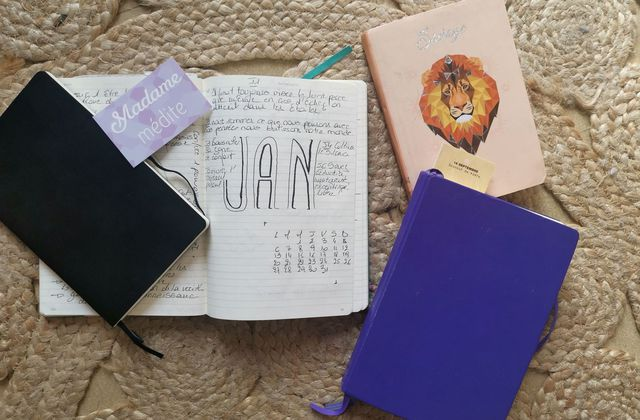 Ces carnets qui m'accompagnent