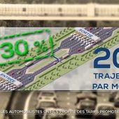 Péages : les automobilistes ont-ils profité des tarifs promotionnels ? - Le journal de 20h   TF1