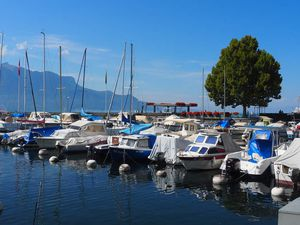 Port et lac Léman