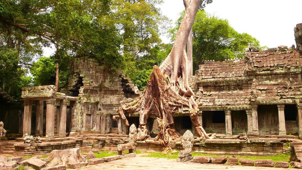 Cambodge : Angkor et plages de Sihanouville