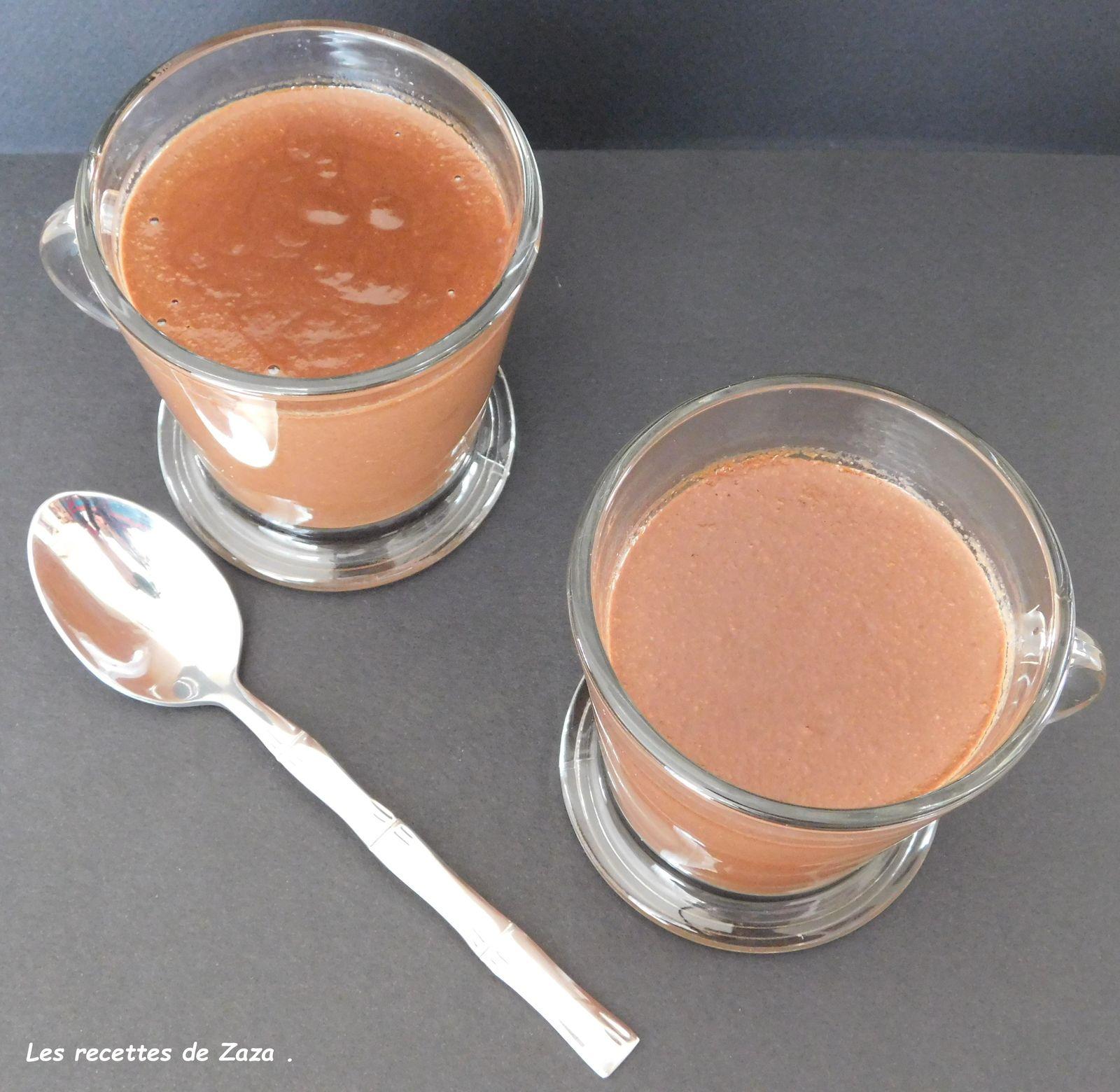 Crème au chocolat aux oeufs