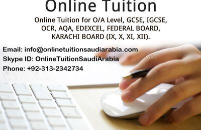Online Tutors in Saudi Arabia
