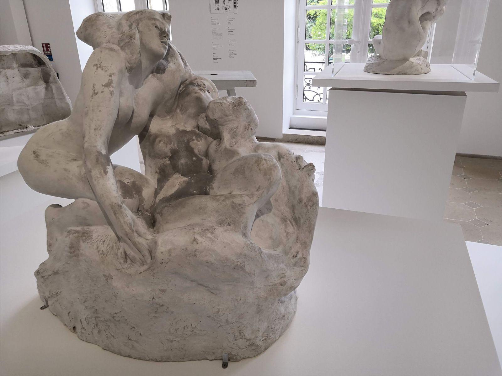 Auguste Rodin, les trois Sirènes, Avant 1888, Plâtre, Musée Rodin-Paris