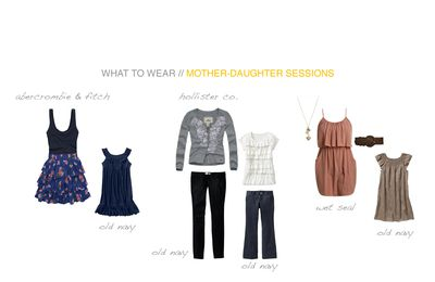 What to wear for a mother/daughter session? Milwaukee Family Photography