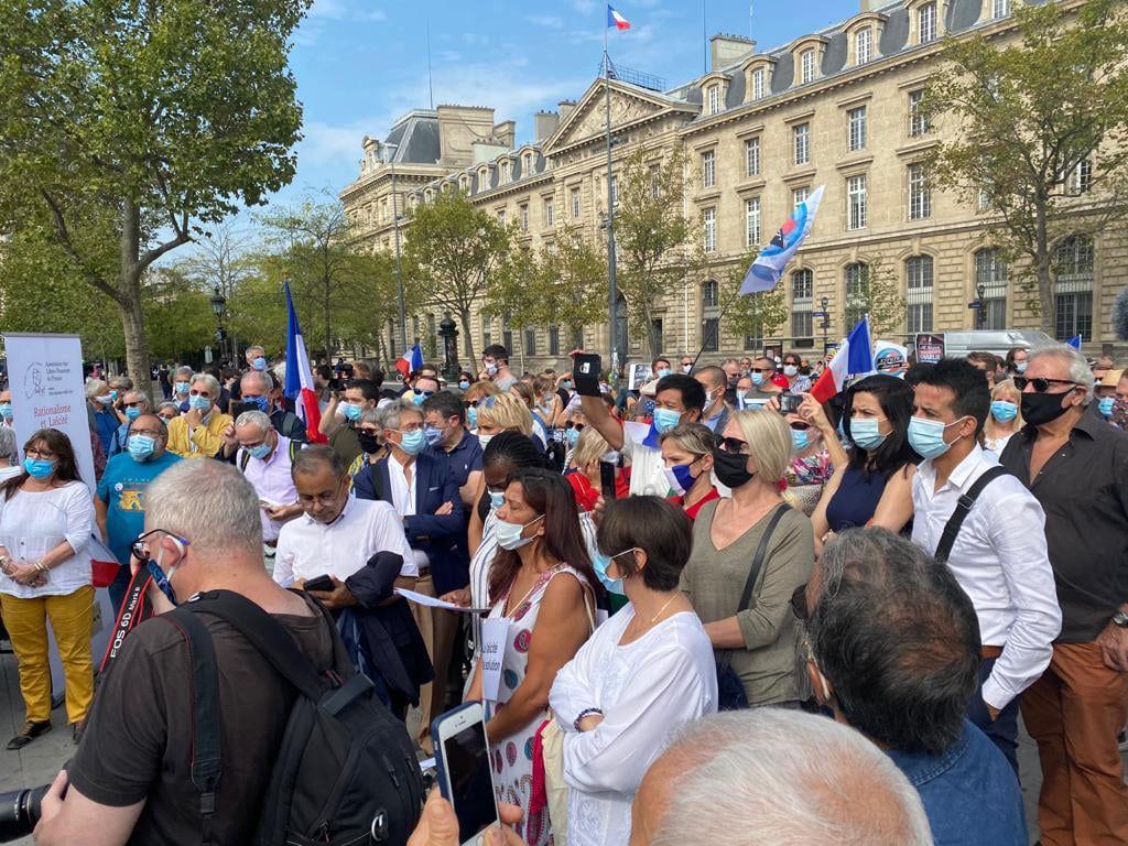Le rassemblement laïque du 20 septembre à Paris