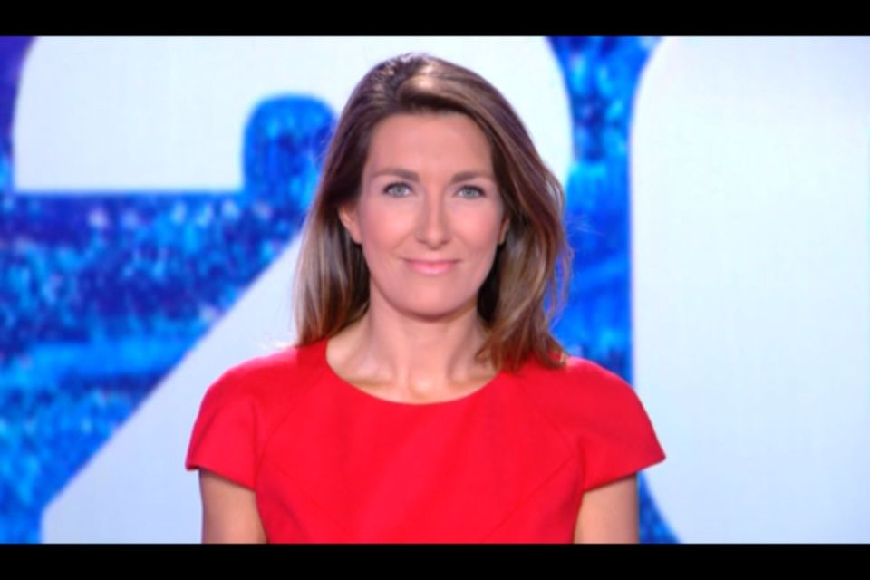 [2012 08 04] ANNE-CLAIRE COUDRAY - TF1 - LE 20H @20H00