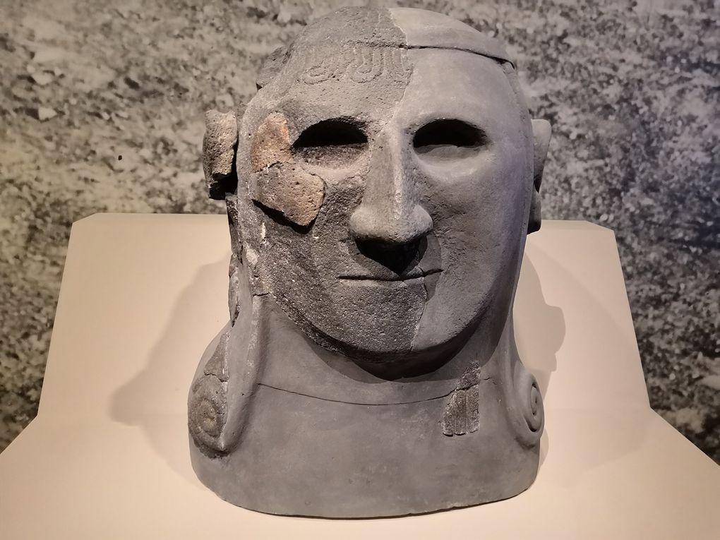 Tête de sphinx, Basalte, Tell Halaf (Syrie), ancienne Guzana, Vers 900 av. J.-C., Berlin, Pergamommuseum