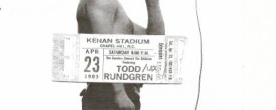 U2 -War Tour -23/04/1983 -Chapel Hill  -USA - Kenan Stadium