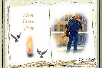MON LIVRE D'OR PAR TONY RICHARD / POUR VOUS LES FEMMES / LA POÉSIE DANS LE COEUR / POÉTIQUEMENT PARLANT / POÉTIQUEMENT PENSANT