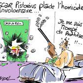 Humour Noir: Oscar Pistorius plaide l'homicide involontaire - Doc de Haguenau