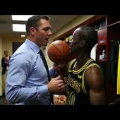 Andre Ingram Receives Game Ball