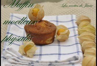 muffins moelleux aux physalis