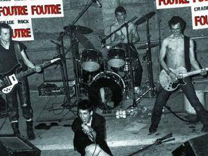 foutre, un groupe formé à tours en 1979 autour des frères pineau jean yves au chant et jean christophe à la guitare