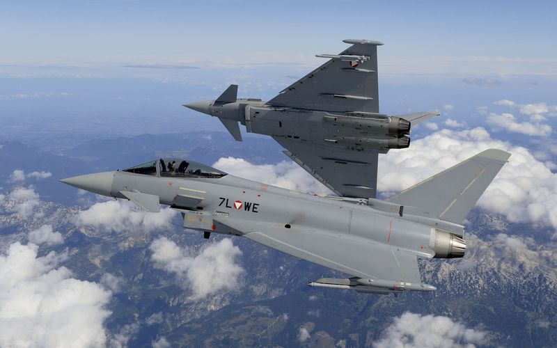 Canada : L'Eurofighter Typhoon se retire de la compétition