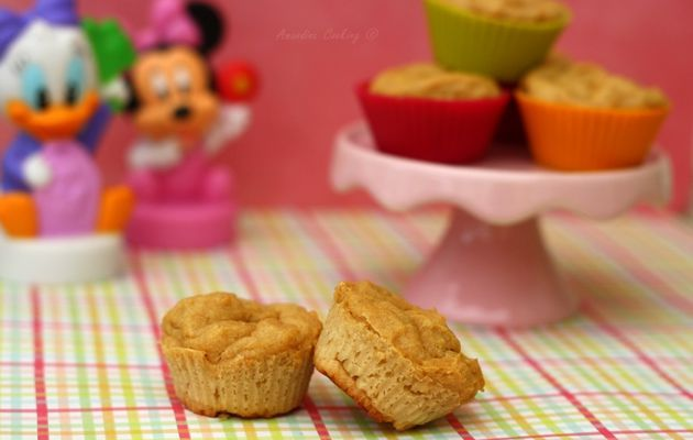Mini muffin pour bébé à la compote de pomme